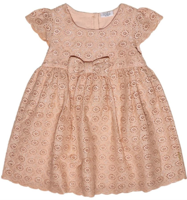 Hust & Claire Mini Kleid peach rose