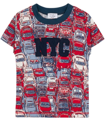 Hust & Claire Mini T-Shirt Andy coole Autos rot