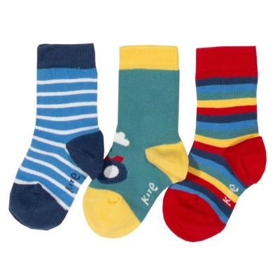Kite 3 pack Socken farm-life Trecker 68  0-6m
