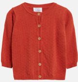 Hust & Claire Baby Cardigan Cammi orange