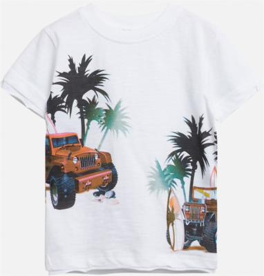 Hust & Claire Mini T-Shirt Ask weiß Rangerover 110