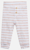 Hust & Claire Baby Hose Lolli Legging rosa weiß