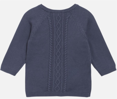 Hust & Claire Baby Cardigan Cammie graublau 62