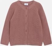 Hust & Claire Mini Carolyn Cardigan Strickjacke rosenholz