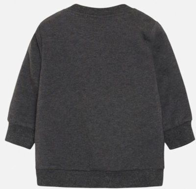Hust & Claire Baby Pullover Sofus grau 92
