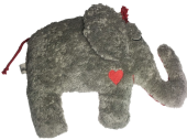 Pat & Patty Rassel Elefant grau