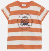 Hust & Claire Mini T-Shirt Ask Ringel rostrot